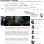 Bologna: donna legge la Bibbia sul bus, islamico minaccia di sgozzarla e piscia sull'autista 4