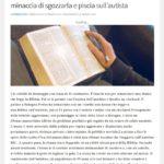 Bologna: donna legge la Bibbia sul bus, islamico minaccia di sgozzarla e piscia sull'autista 1