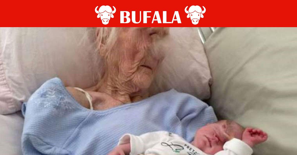 Partorisce a 101 anni