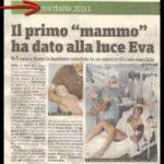 Roma. Un uomo partorisce per la prima volta nella storia. E' nata Eva 4