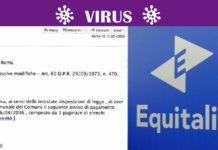 virus avvisi di pagamento equitalia